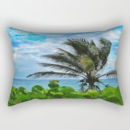 Oceanfront Rectangular Pillow