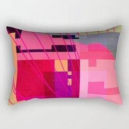 what's happening Rectangular Pillow