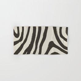Painted Zebra Hand & Bath Towel