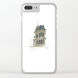 100 Willis Street Clear iPhone Case