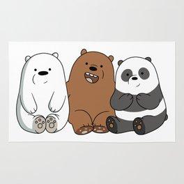 We Bare Bears Rug