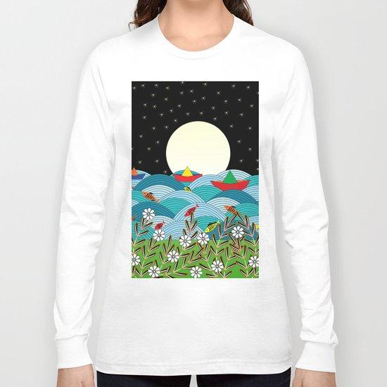 beautiful night Long Sleeve T-shirt