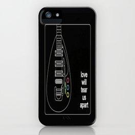 Joy Division Tore Us Apart iPhone Case