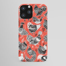 Lil Cluckers iPhone Case