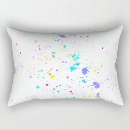 Artful Splatter Rectangular Pillow