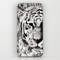 Tiger BW iPhone & iPod Skin