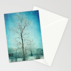 Winter Frost Stationery Cards