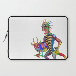 Chupacabra And His Goat Laptop Sleeve