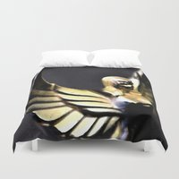 angel wings Duvet Covers featuring Angel Wings Series by Shaunia McKenzie