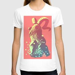 Boho Chic Woman & Skull T-shirt
