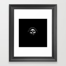The Skelli-Faces Framed Art Print