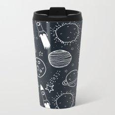 Space Doodles Metal Travel Mug