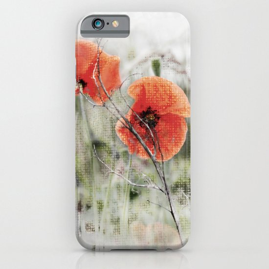 Poppies(mist). iPhone & iPod Case