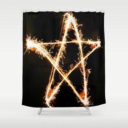 star pop Shower Curtain