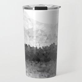 Design 116 Grey Mosaic Landscape Travel Mug