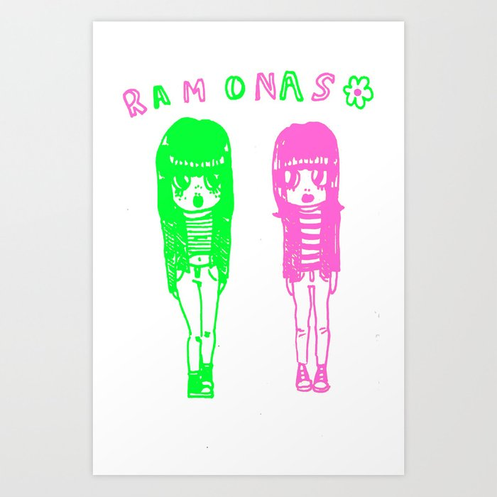 Ramonas Art Print