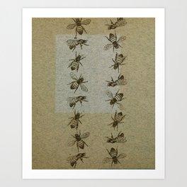 Bee Line Art Print