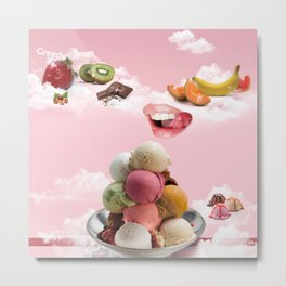 Ice-cream Metal Print