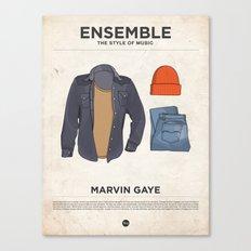 Ensemble - Marvin Gaye Canvas Print