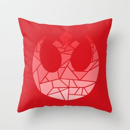 Star Wars Rebel Red Gradiant Throw Pillow
