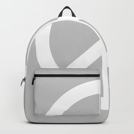 Peace (White & Gray) Backpack