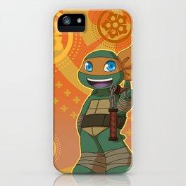 TMNT Chibi Mikey iPhone Case