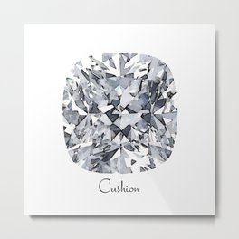 Cushion Metal Print