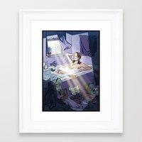 lara croft Framed Art Prints featuring Lara Croft Reborn by Adrien ADN Noterdaem
