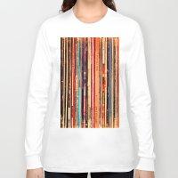 vinyl Long Sleeve T-shirts featuring Vinyl by bomobob