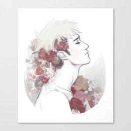 Jean's crown Canvas Print