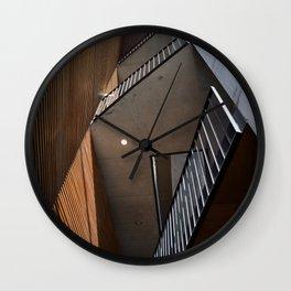 Building Lines Wall Clock