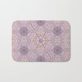 Pink Mandala Bath Mat