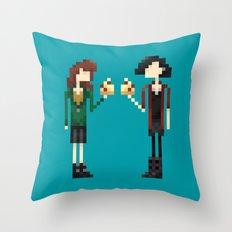 Freakin' Friends II Throw Pillow