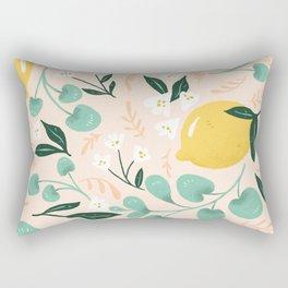 Lemon Party Rectangular Pillow