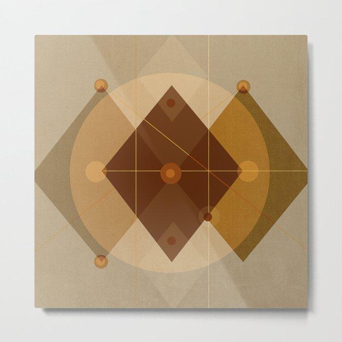 Geometric/Abstract 9 Metal Print
