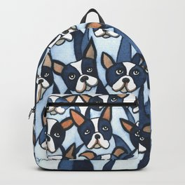 Many Boston Terriers Backpack
