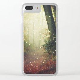 Forest of Miracles and Wonder Clear iPhone Case
