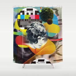 Television Art Shower Curtain