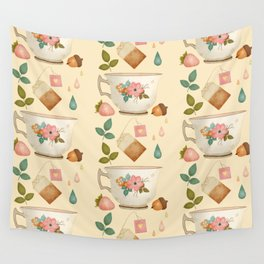 INVITE ME TO TEA Wall Tapestry