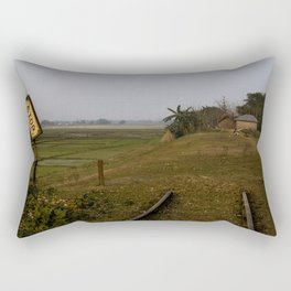 Separated by independence Rectangular Pillow