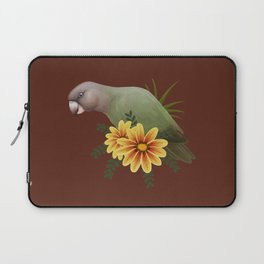 Brown-Headed Parrot Laptop Sleeve
