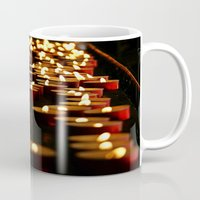 madonna Mugs featuring Candles for the Madonna by Art-Motiva