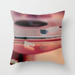 Record Players are Better  Throw Pillow