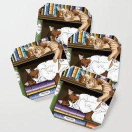 Hitting the Books Coaster