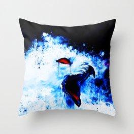 snow owl wsc80 Throw Pillow