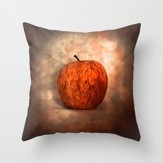 Once Upon an Apple Throw Pillow