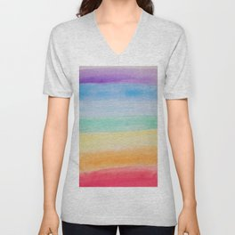 Chakra Watercolor Unisex V-Neck