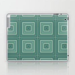 Green plaid  4 Laptop & iPad Skin