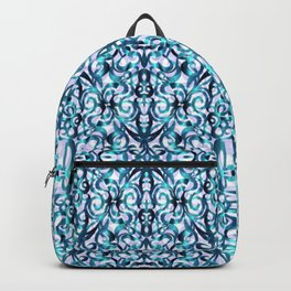 Floral Abstract Pattern G22 Backpack