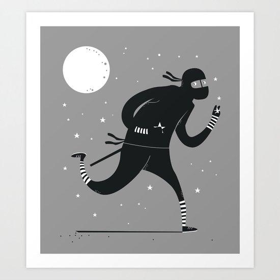 Star stealer Art Print